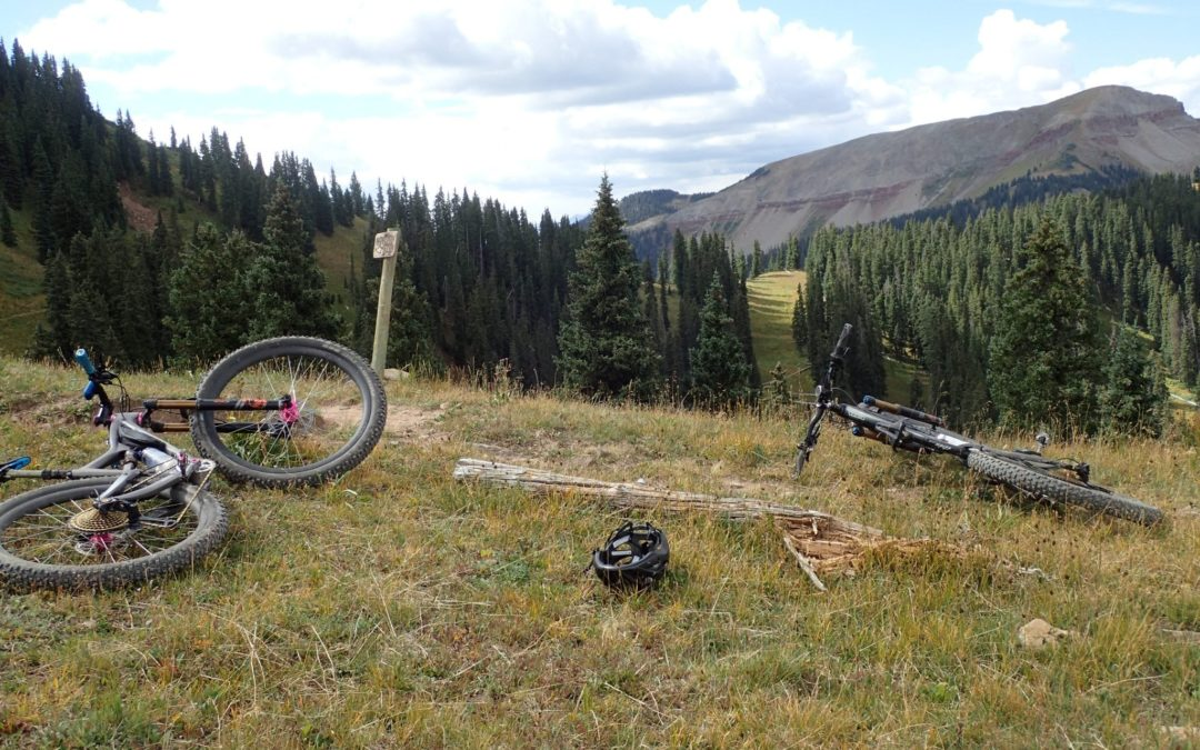 Mountain Biking from Telluride to Durango